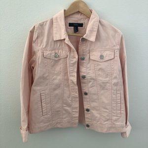 Light Pink Denim Jacket